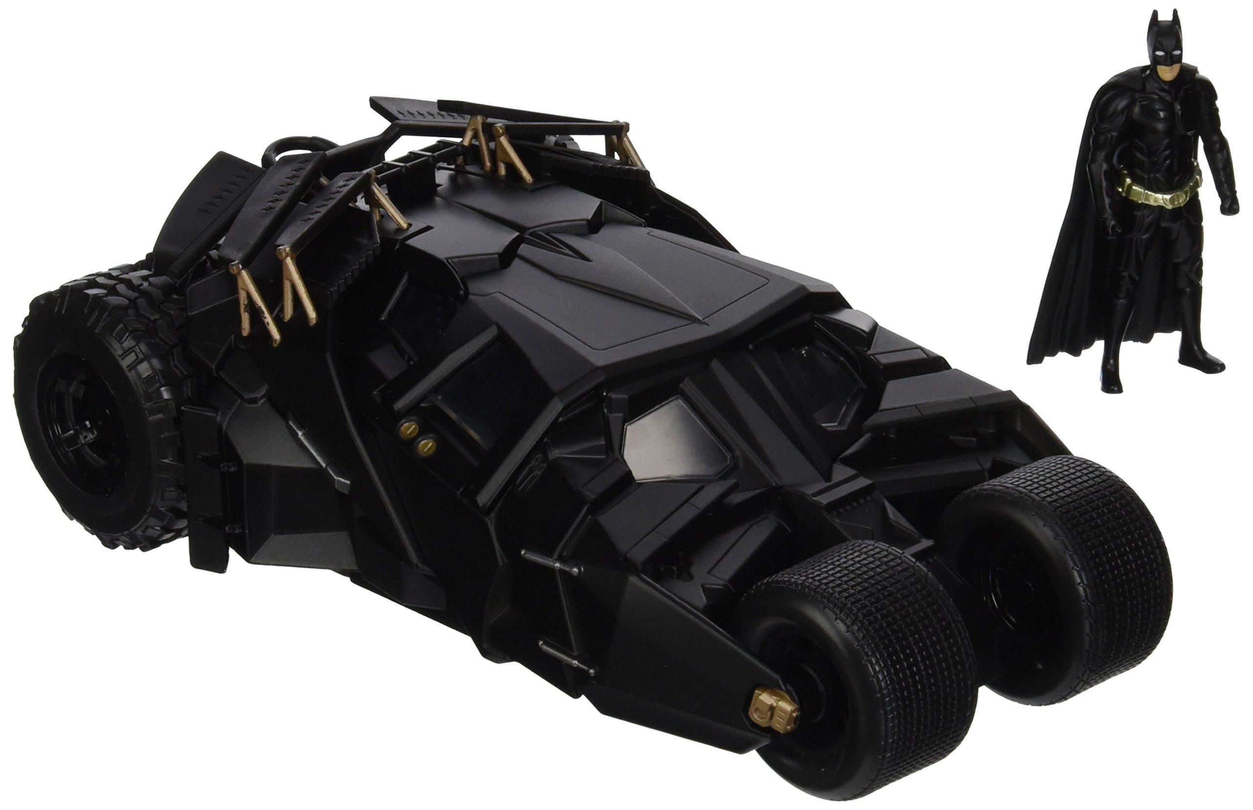Jada Toys Boys Metals 1:24 2008 Batmobile with Figure