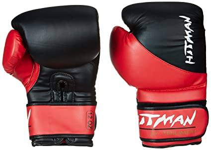 Buy Hitman Gb04593 Pu Strike Boxing Gloves 12 Oz Black Online At Low Prices In India Amazon In