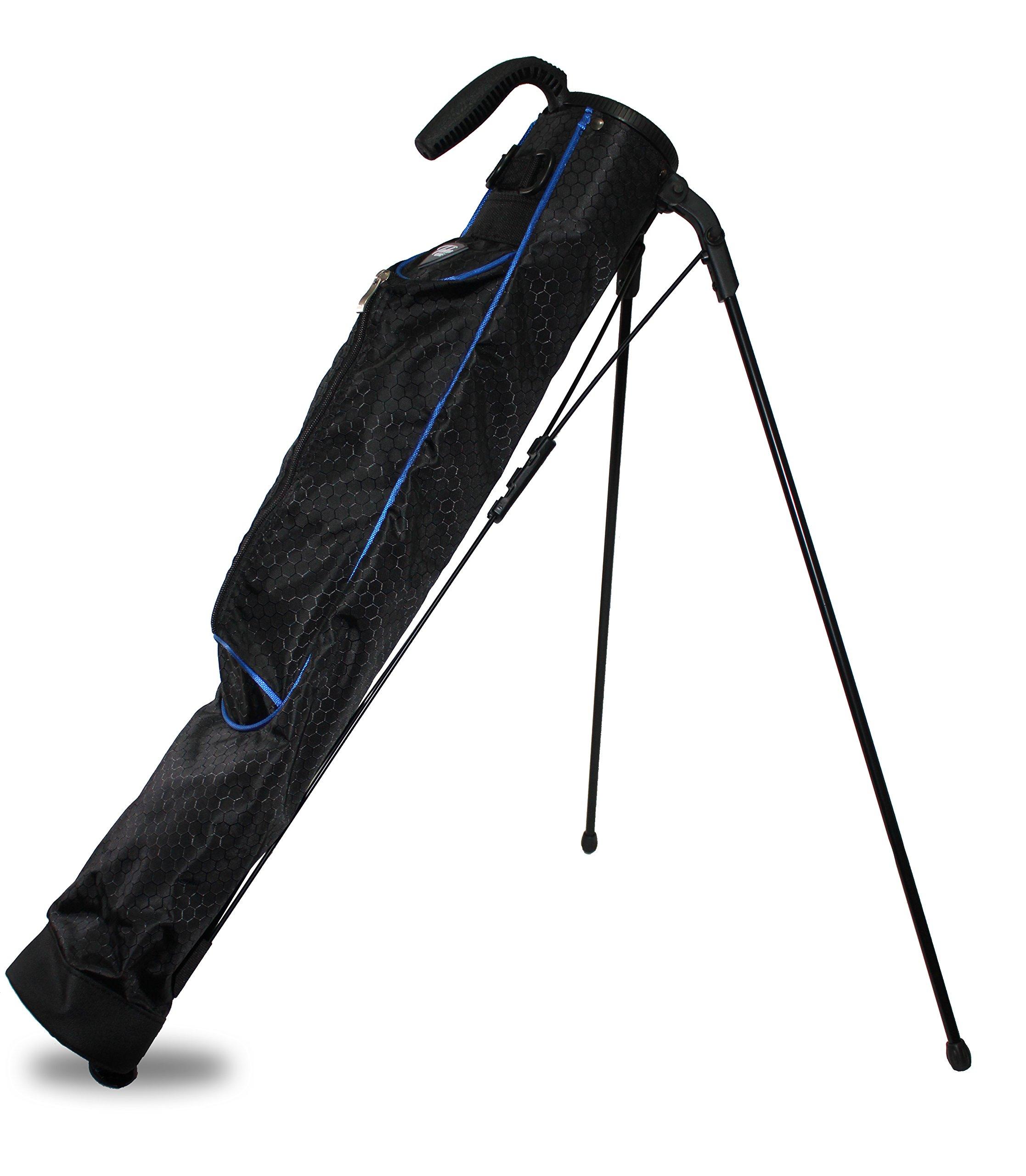 Taboo Golf Sidekick Driving Range Sunday Carry Golf Bag (Blue)