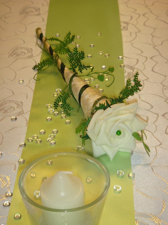 Tischdeko Grün tischdekoration für ca 60 pers grün zur hochzeit tischdeko td0010