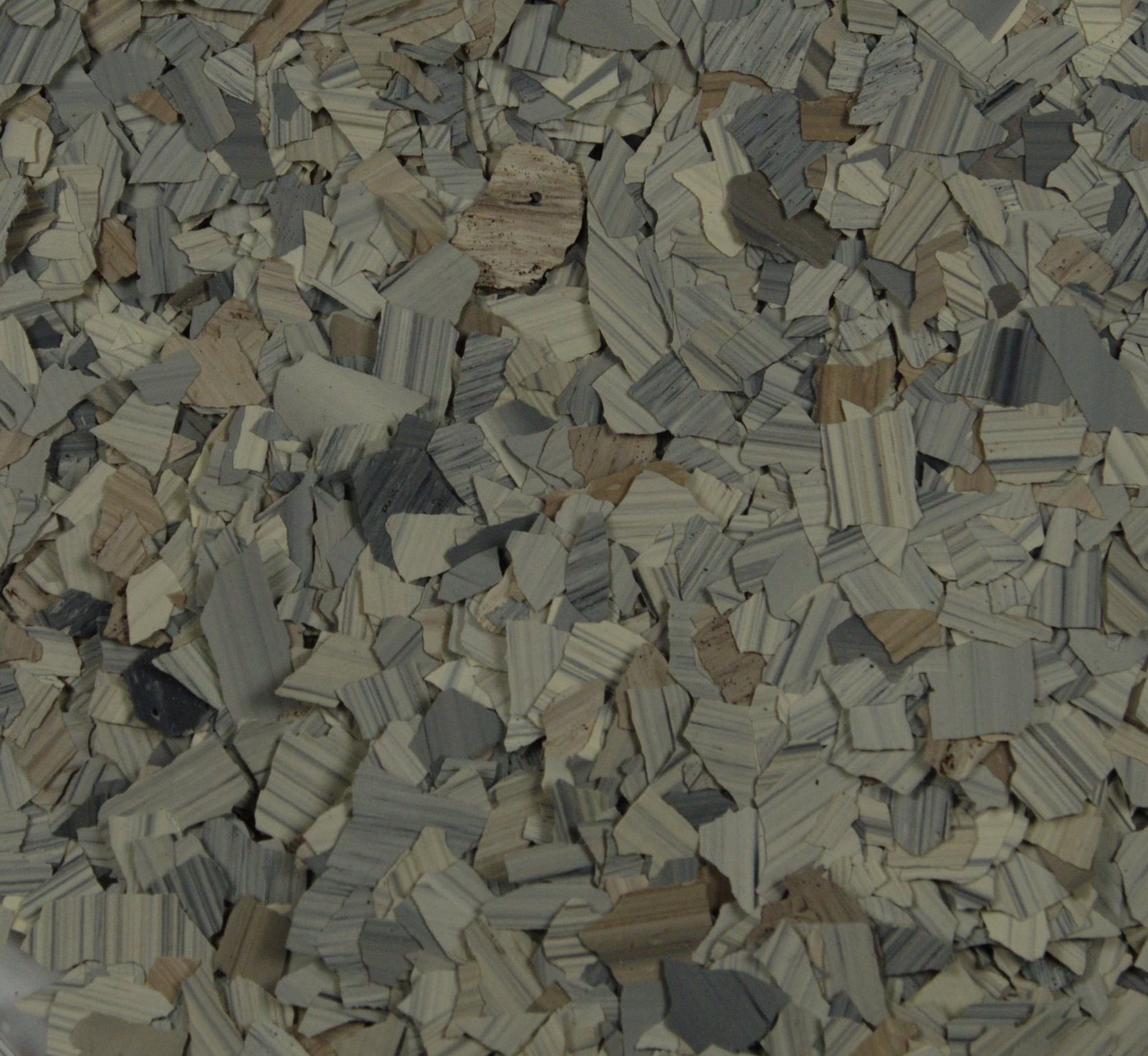 American Abrasive Supply, Vinyl Chip Blend Pumice (Stone) 1/4'', VCPPUMIS