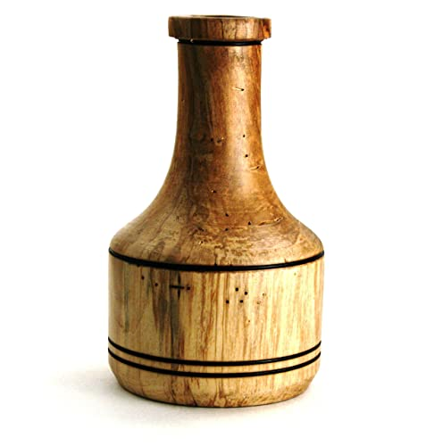 Amazon Wooden Bowl Maple Tree Slightly Wormy Vesselvase Lathe