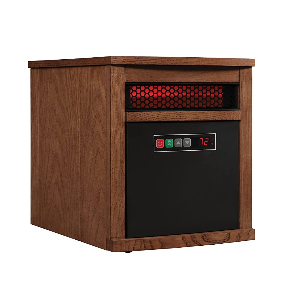 Duraflame 9HM8101-O142 Portable Electric Infrared Quartz Heater, Oak Review