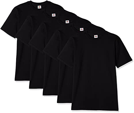 7d967bc2 Fruit of the Loom Men's Super Premium Short Sleeve T-Shirt (Pack of ...