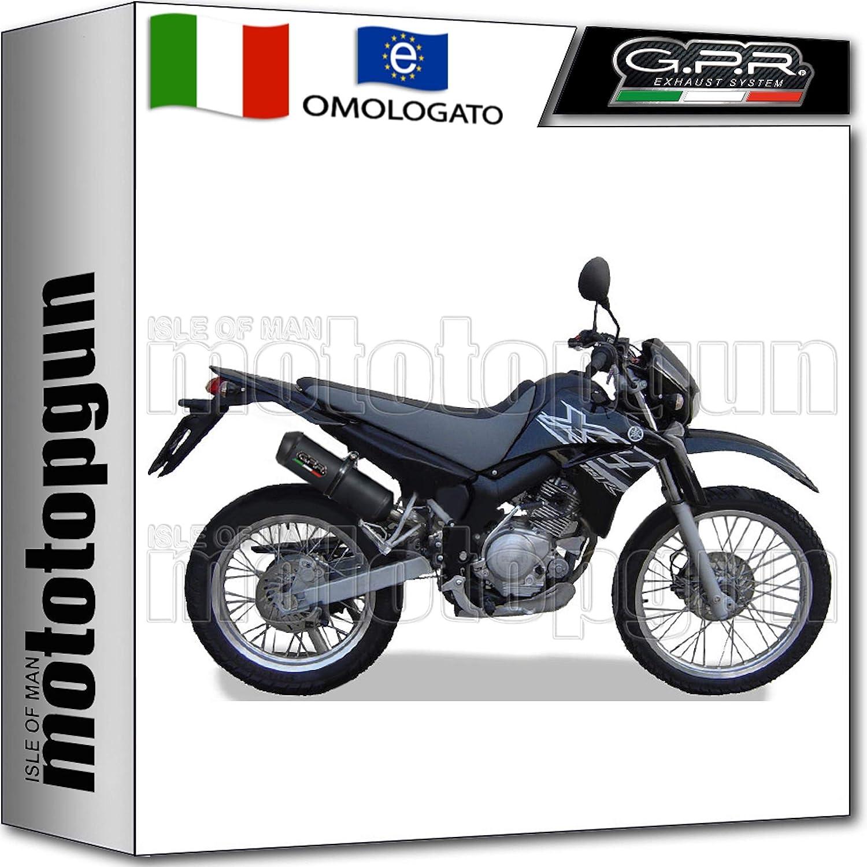 GPR Auspuff HOM GHISA Yamaha XT 125 R X 2005 05 2006 06 2007 07 2008 08