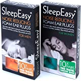 Best Ear Plugs for Sleeping, Protection for Musicians Hearing / Ears from Loud Music, Earplugs Help Save Sanity from Sleep Deprivation via Snoring, Pets and Neighbours, Better Concentration with Less Background Noise, Find Your Peace Today!