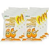 One Potato Two Potato, Sweet Potato Kettle Potato Chips, 2 oz (Pack of 8)