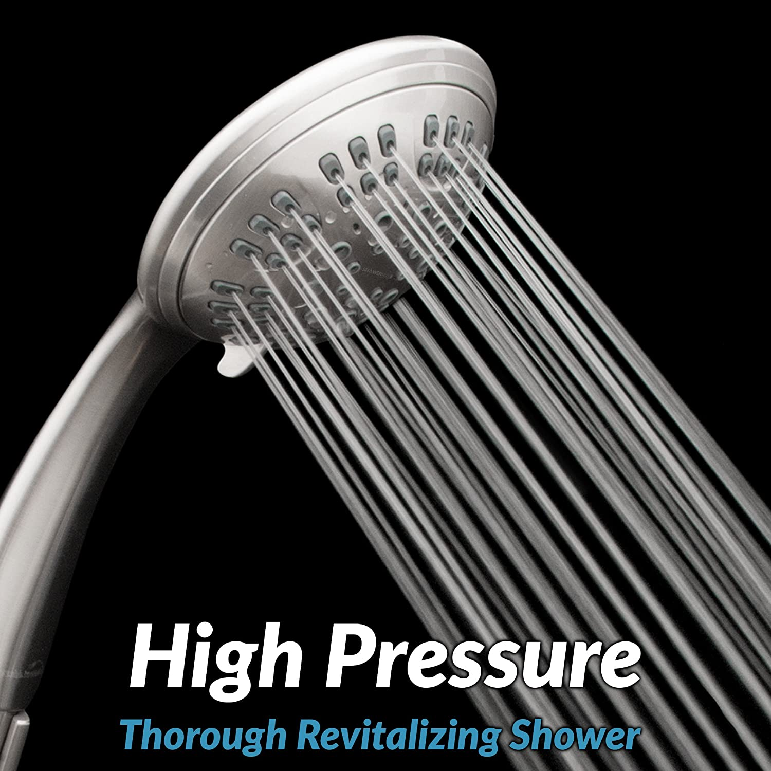ShowerMaxx Premium Shower Head with six Spray Settings