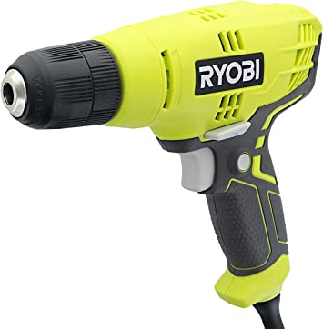 RYOBI 5.5 Amp Corded 3//8 in Variable Speed Compact Drill//Driver with Bag