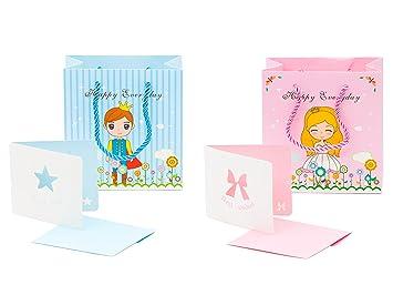 Amazon.com: 12 PC dulce Príncipe y princesa bolsas de bolsas ...