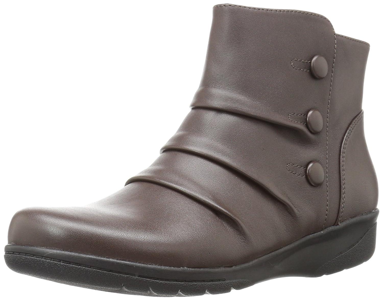 CLARKS Women's Cheyn Anne Boot B01N0QGJZK 8.5 W US|Dark Brown
