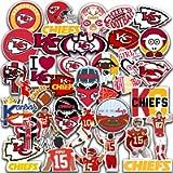 Kansas City Vinyl Chiefs Stickers Pack of 39 pcs 2-2,5 inch