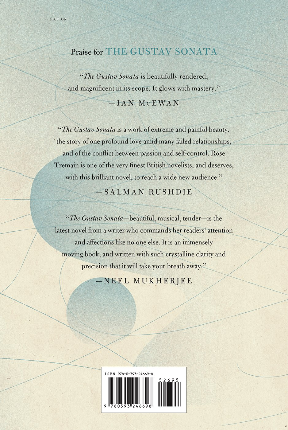 Amazon.com: The Gustav Sonata: A Novel (9780393246698): Rose Tremain: Books