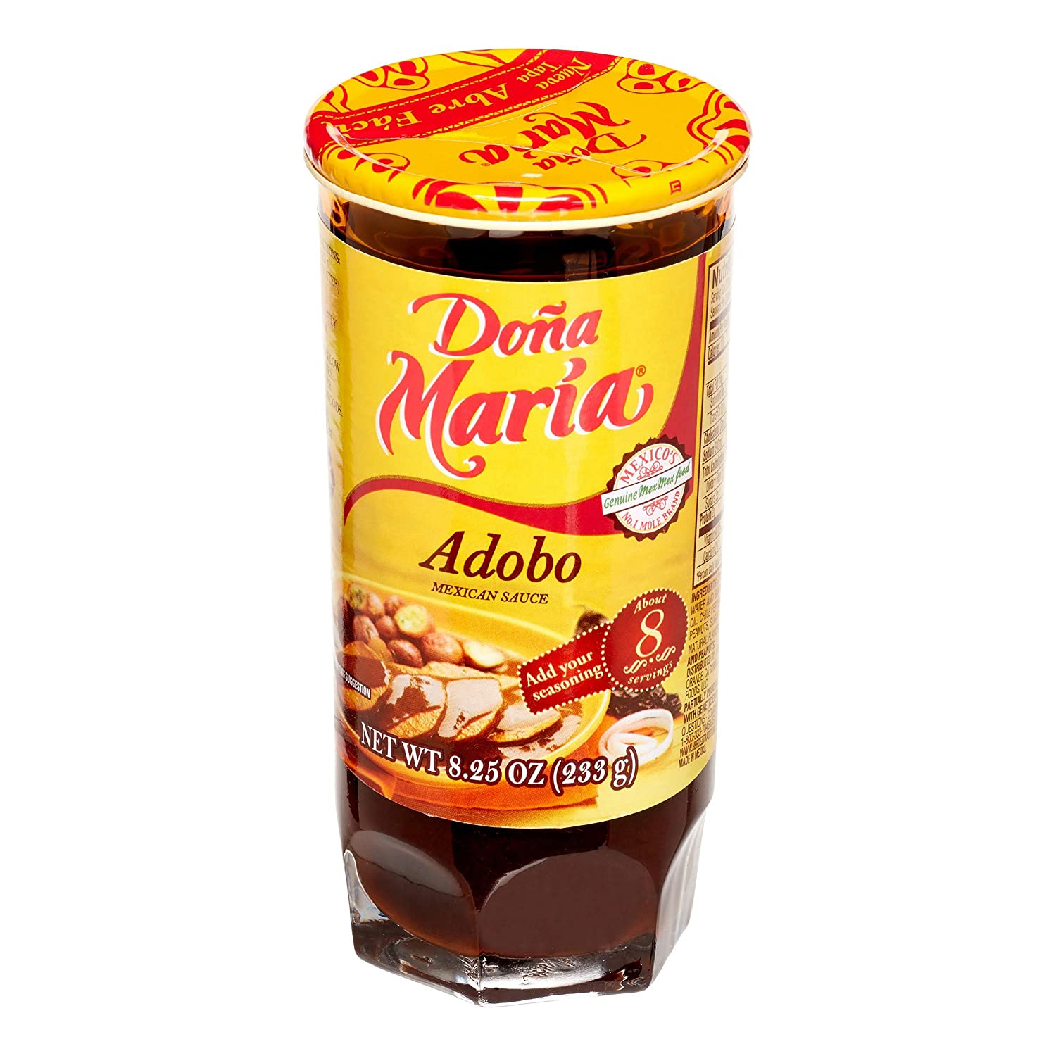 Dona Maria Adobo Mexican Sauce 8.25oz Imported from Mexico (2 Pack)