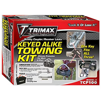 Trimax TCP100 Combo Pack-UMAX100-TC123-TS32 w/Carrying Case: Automotive