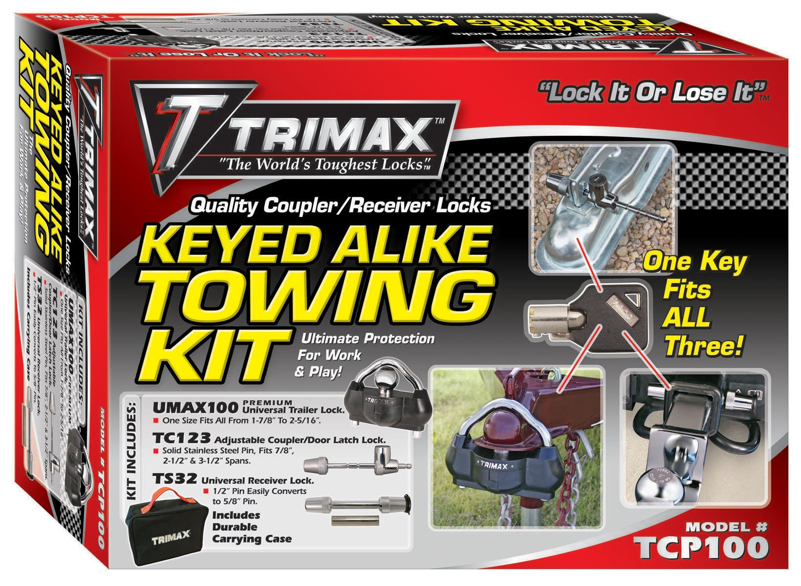 Trimax TCP100 Keyed Alike Combo Pack by Trimax