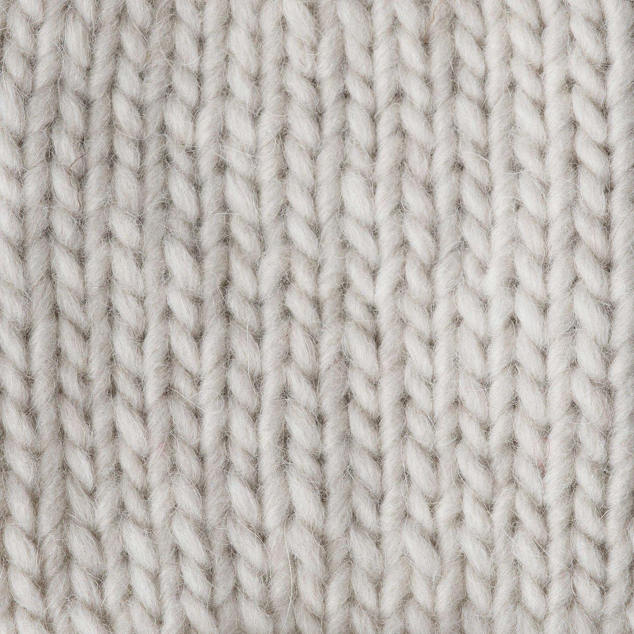 5 Patons Alpaca Blend Yarn- Bulky Gauge -3.5oz- Oats- Machine Washable for Crochet Knitting /& Crafting