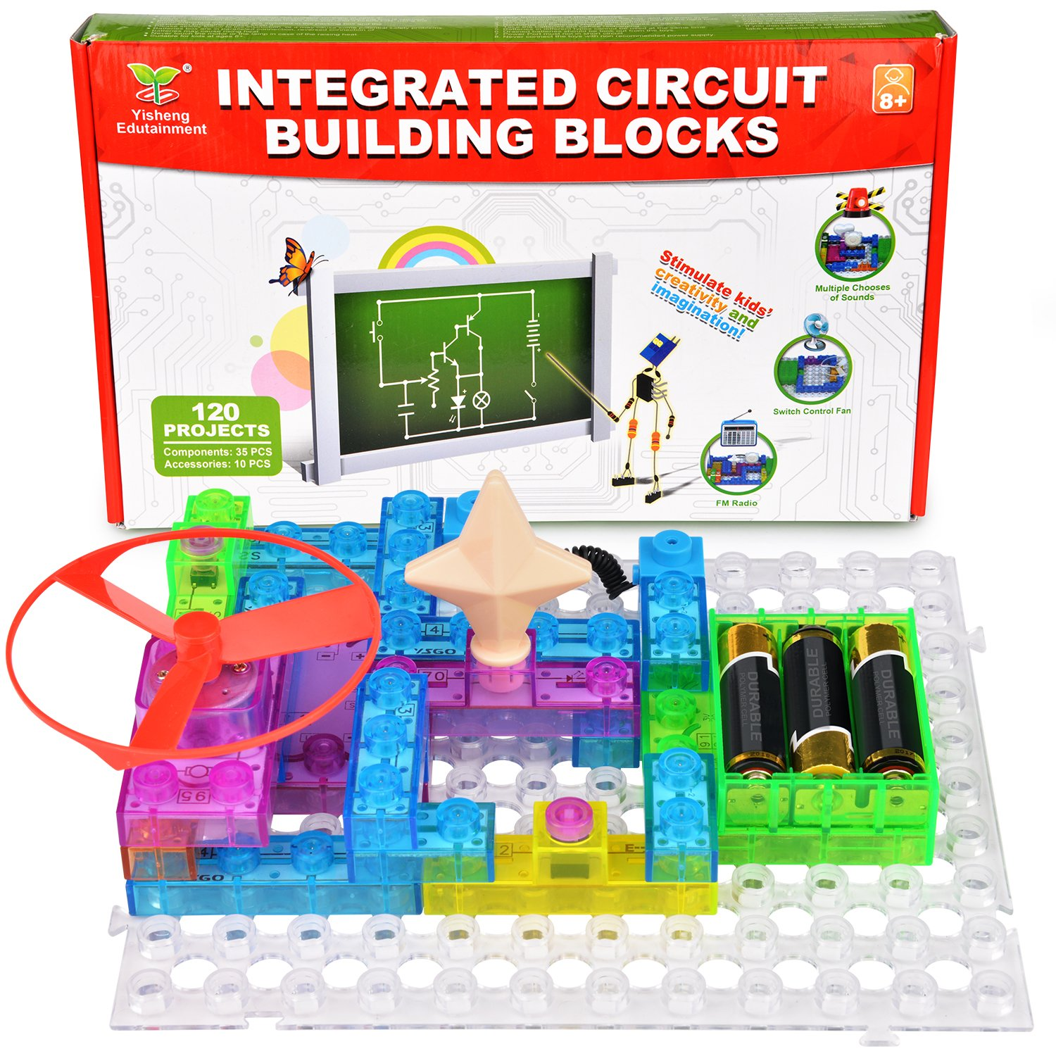 Electronics Discovery Kit Circuit Learning Center Stem Electronic Thermometer With Explanation Circuits Toys Blocks Games