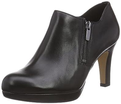 Clarks Amos Kendra, Women's Pumps, Black (black Leather), 9 UK (