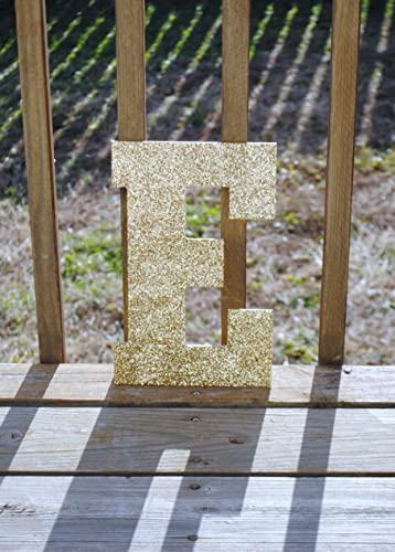 decorative 13 gold glitter wall letters girls bedroom decor home decor wedding