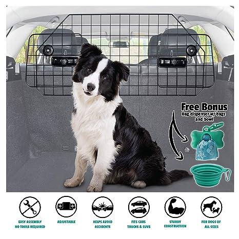 Amazon.com: Barrera de coche para perros de alta resistencia ...