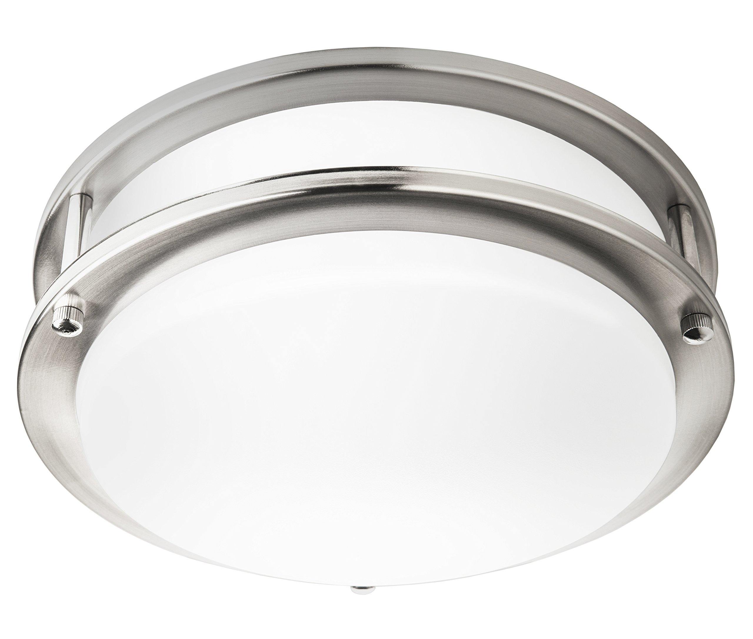 Hyperikon LED Flush Mount Ceiling Light, 10'', 65W equivalent, 1140lm, 3000K (Soft White Glow), 120V, 10-Inch, Dimmable