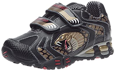 28c8221cce Amazon.com | Geox Kid's Eclipse B5 Light-Up Sneaker (Toddler/Little ...