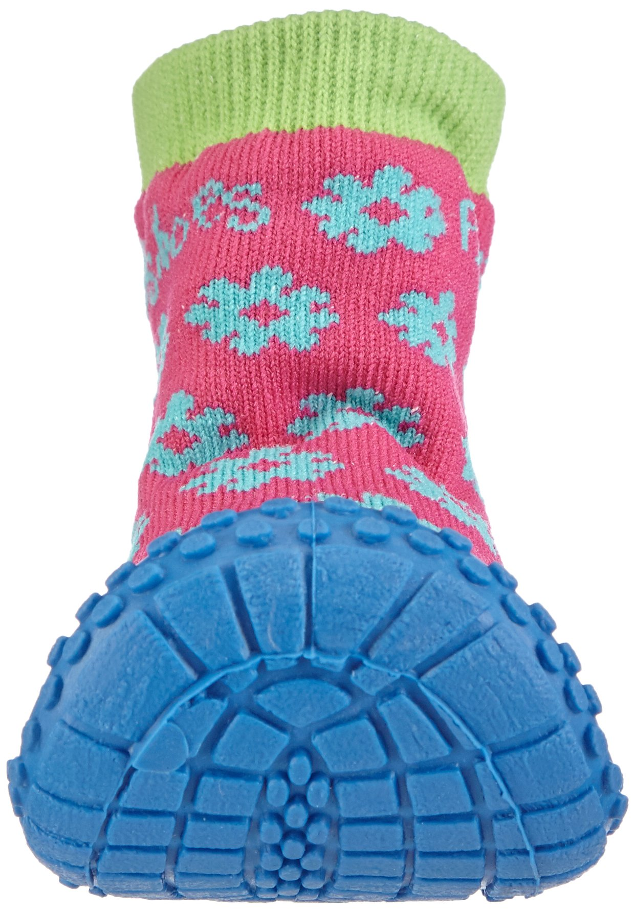 Playshoes Girls Flower Collection Rubber Aqua Swim/Beach Shoes (4.5 M US Toddler) by Playshoes (Image #4)