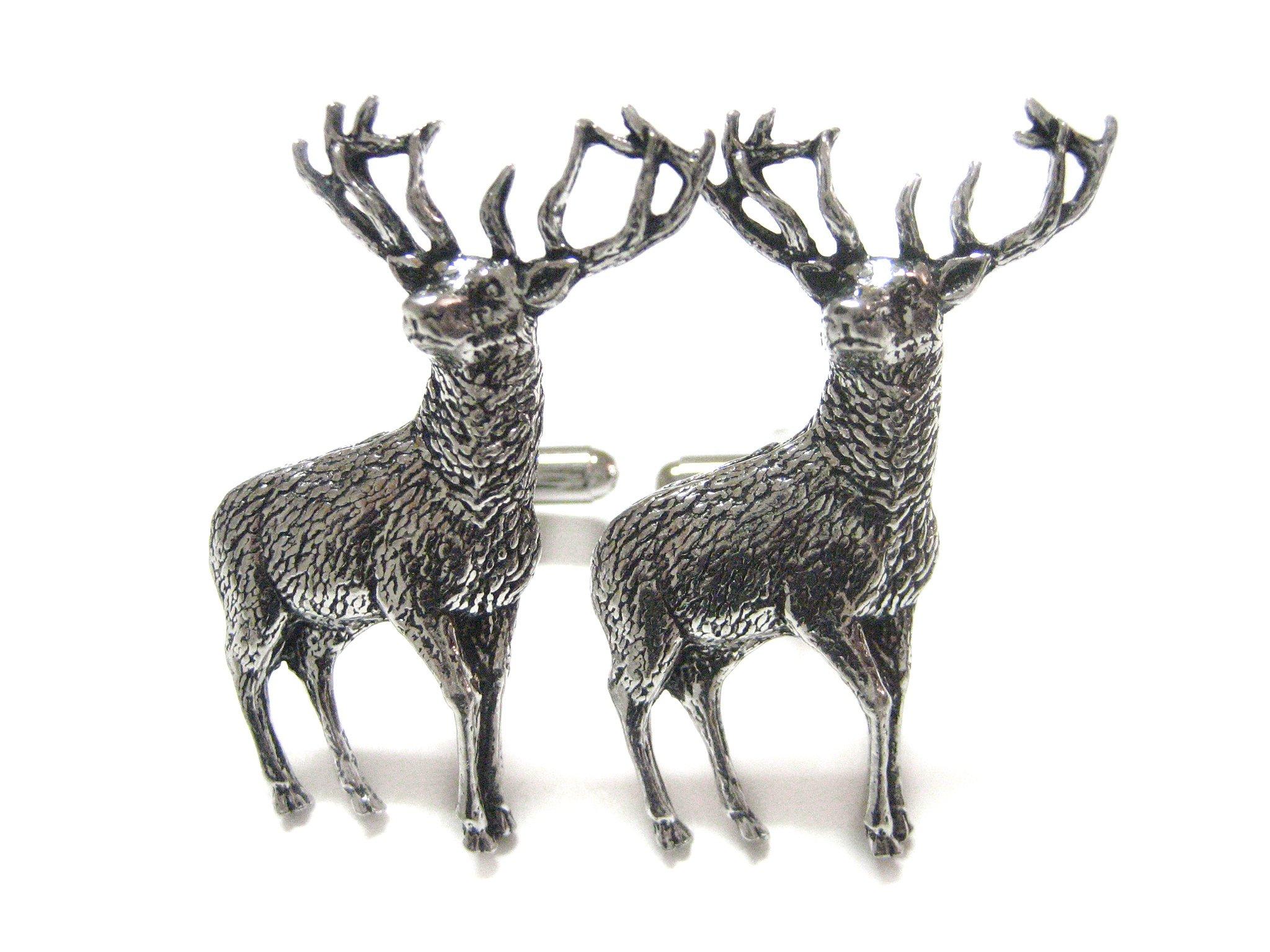 Stag Deer Cufflinks