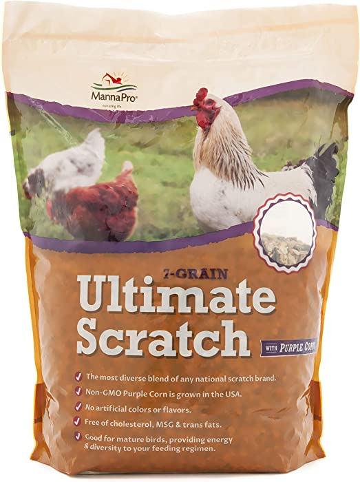 Manna Pro 7-Grain Ultimate Chicken Scratch | Non-GMO | 10 Pounds