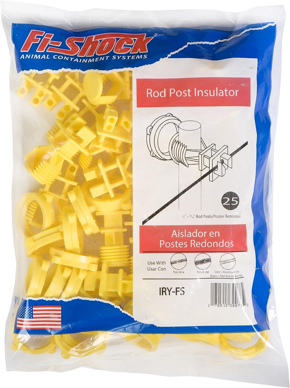 Fi-Shock IWKNY-FS Yellow Economy Insulator with Single head Nail