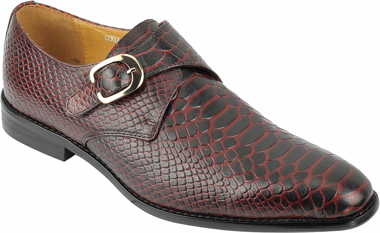 Xposed Mens Real Leather Crocodile Skin