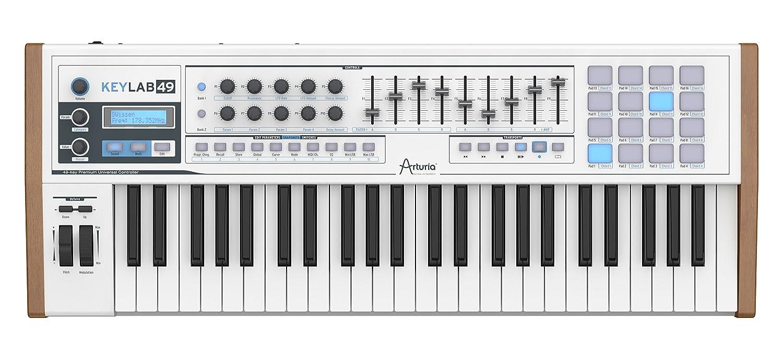 アートリア/Arturia KeyLab 49 Controller Keyboard/キーボード/MIDIコントローラー パッド フィジカル【並行輸入品】 B00DJ5UJ5E