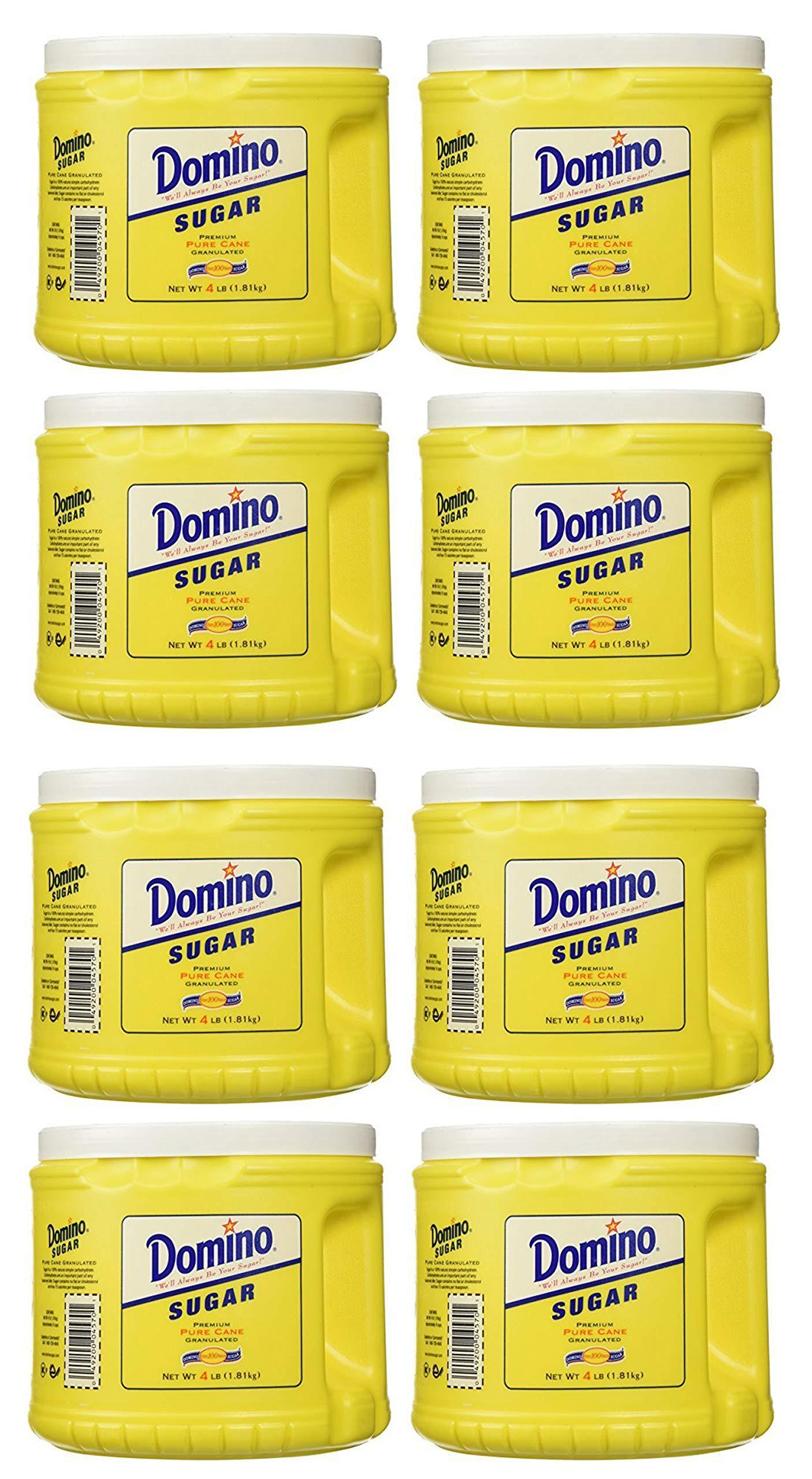Domino UIK Pure Cane Sugar 4lb 8 Pack