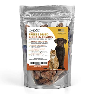 Freeze Dried Chicken Hearts Treat