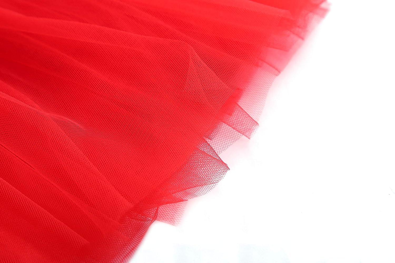 Girls Soft Tutu Tulle Layered Dance Dress Up Skirt for Little Gilrs /& Big Girls