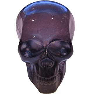 Red Scary Skull American Shifter 196450 Red Retro Metal Flake Shift Knob with M16 x 1.5 Insert