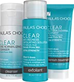 Paula's Choice CLEAR Extra Strength Acne Travel Kit, 2% Salicylic Acid & 5% Benzoyl Peroxide for Severe Acne, Redness…