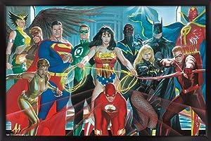 Trends International DC Comics - Justice League - Alex Ross - The Elite Wall Poster, 22.375