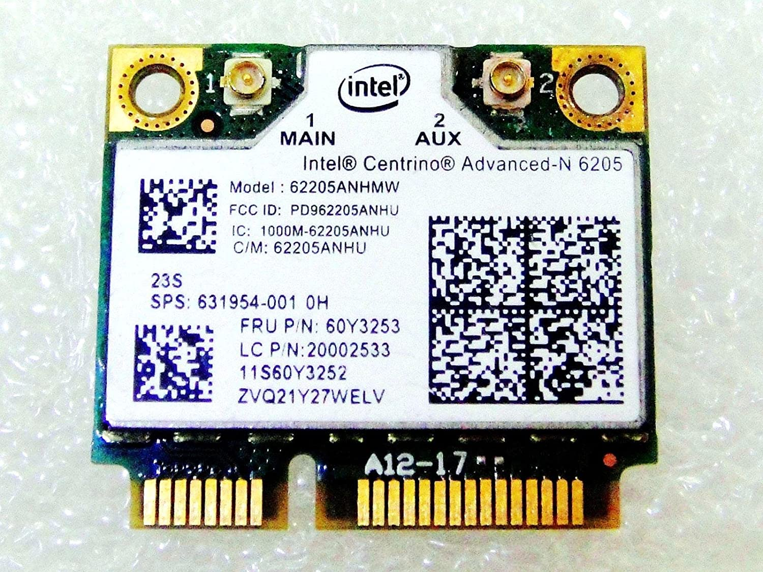amazon com replacement for hp laptop 631954 001 intel 6205 62205an