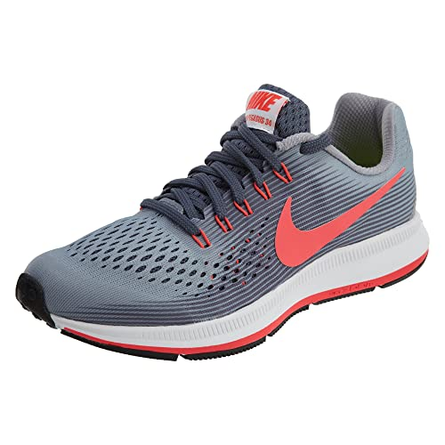 timeless design a0123 0c9ca Amazon.com: Nike Girl's Zoom Pegasus 34 (GS) Running Shoe: Shoes