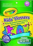 Gum Crayola Flossers Grape W Fluoride, 40-Count