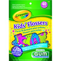 Gum Crayola Flossers Grape W Fluoride, 40-Count