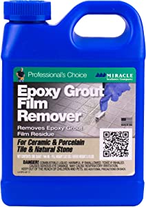 Miracle Sealants EPOREMQT6 Epoxy Grout Film Remover Cleaners, Quart