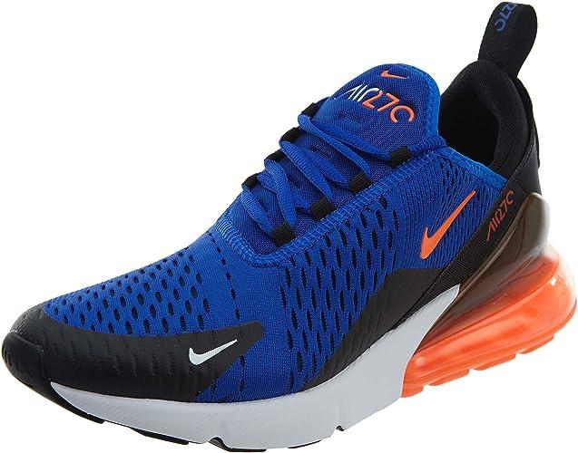 Nike Air Max 270 Men's Shoes Racer BlueHyper CrimsonBlack ah8050 401