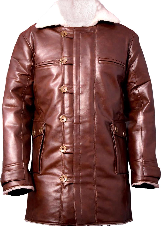 Bane Faux Leather Coat