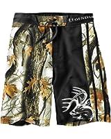Legendary Whitetails Men's God's Country Camo Lakeside Swim Shorts