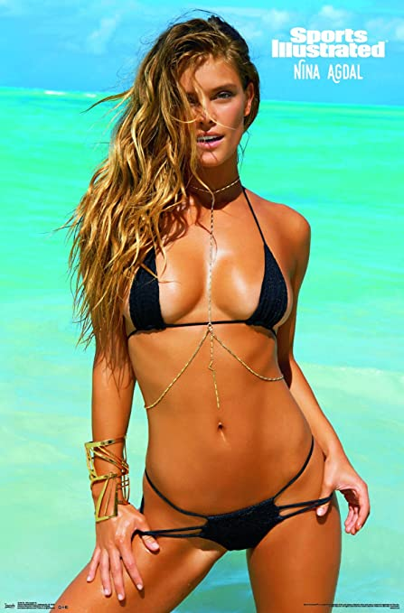 Trends International Sports Illustrated Nina Agdal Wall Poster 22375quot