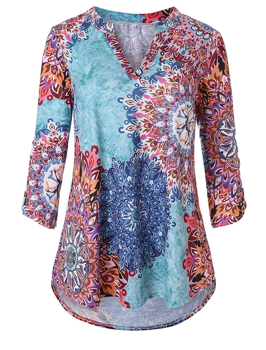 Cucuchy Tunic Shirts For Women Ladies Zulily Tunics 3 4 Sleeve Tops