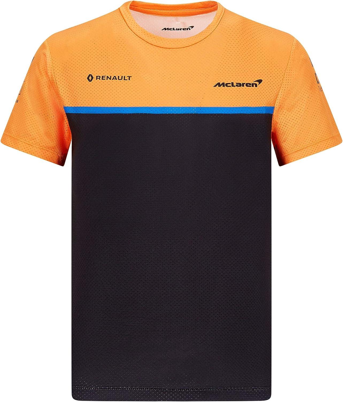 2020 Mclaren F1 Team Kids T Shirt Polo Childrens Clothing Sainz Norris